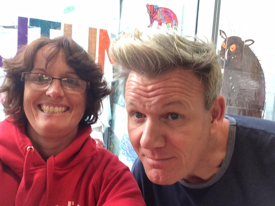 Gordon Ramsey at Great Ormond Street Hospital